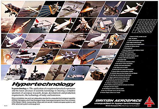 British Aerospace BAe 1983 Portfolio