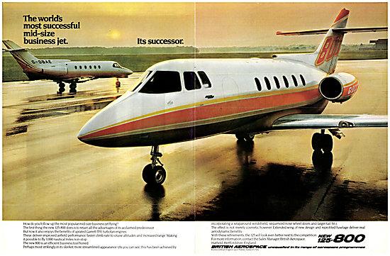 British Aerospace BAe 125