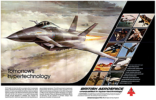 BAe Agile Combat Aircraft - BAe Military Aircraft