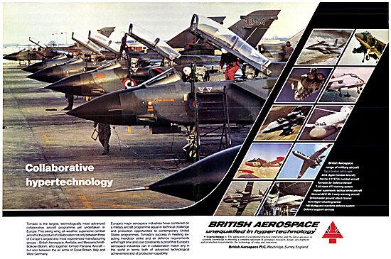 British Aerospace BAe Military Aircraft 1983