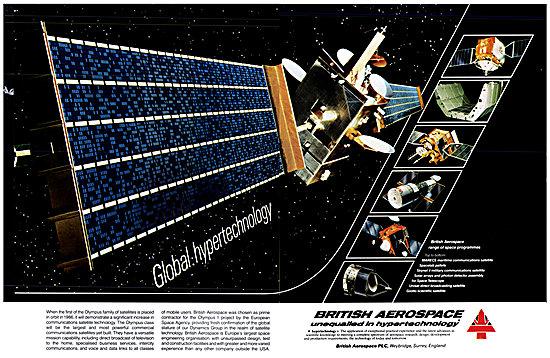 British Aerospace BAe Satellite Technology