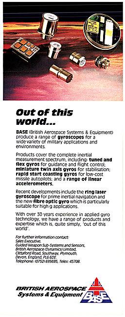 British Aerospace BAe BASE Gyroscopes