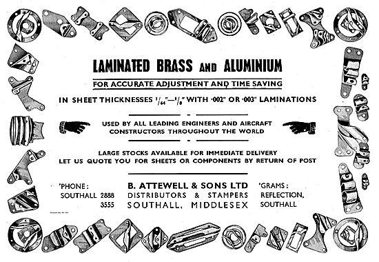 B. Attewell Laminated Brass & Aluminium