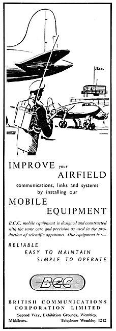British Communications Corporation BCC Mobile Comms