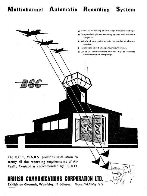 BCC Mars ATC Recording & Monitoring Installations