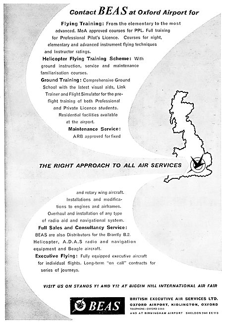 British Executive Air Services BEAS Sales Maintenance Training