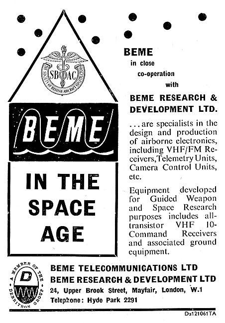 BEME Airborne Electronics