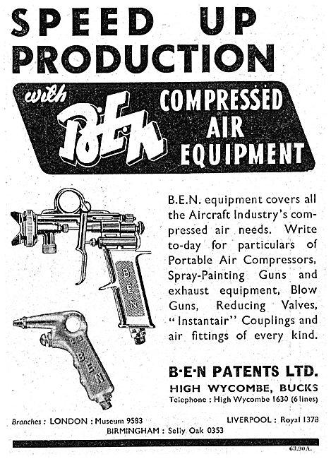 B.E.N.Patents BEN Compressed Air Spray Equipment