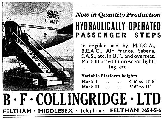 B.F.Collingridge Hydraulically Operated Passenger Steps