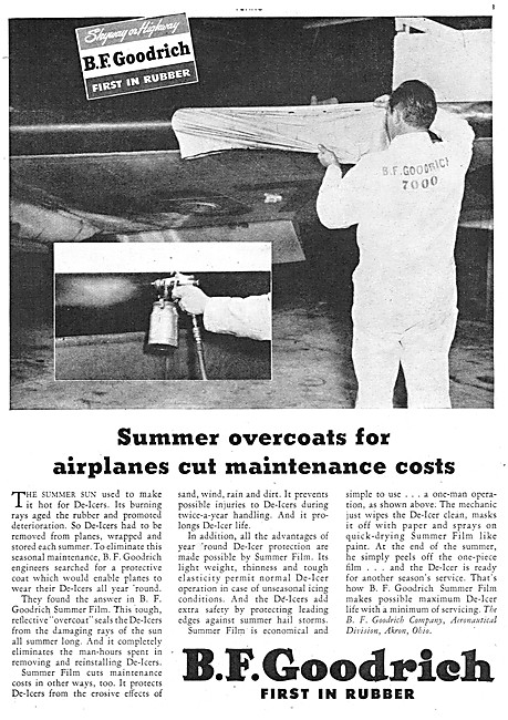 B.F.Goodrich Rubber De-Icing Equipment
