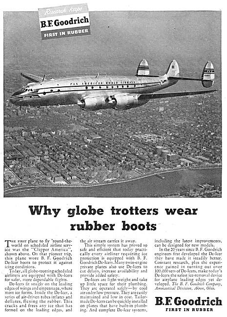 B.F.Goodrich Rubber De-Icing Boots