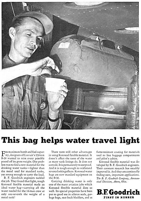 B.F.Goodrich Water Tanks - Koroseal