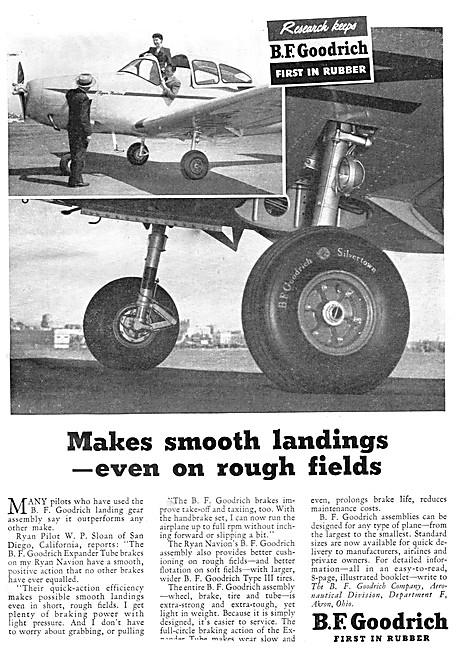 B.F.Goodrich Aircraft Tyres