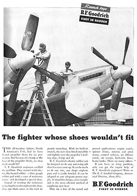B.F.Goodrich Heated Propeller Shoes