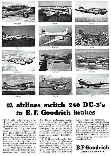 B.F.Goodrich Aircraft Brakes