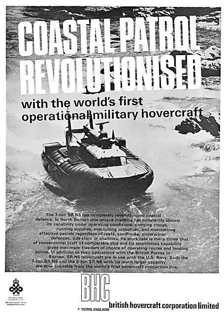 BHC - British Hovercraft Corporation SR.N5