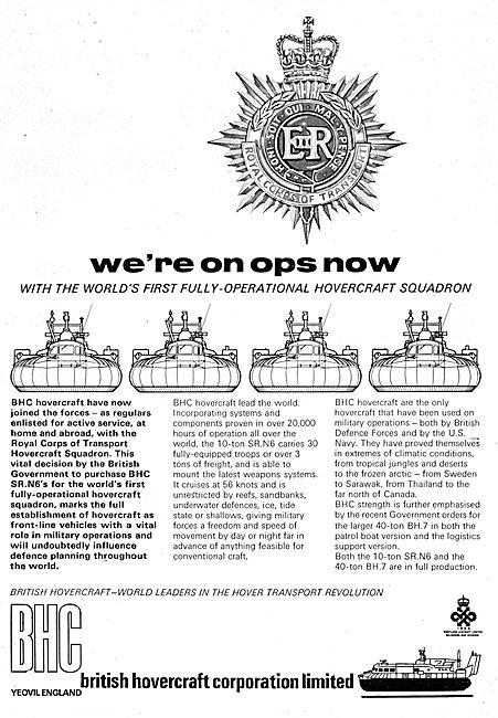 BHC - British Hovercraft Corporation SR.N6