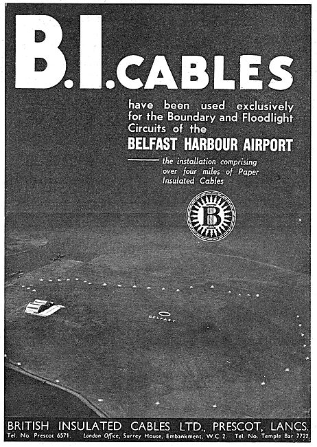 Callender's Electrical Cables For Airfields
