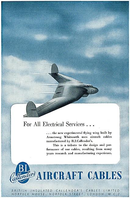 B.I.Callenders Aircraft Cables