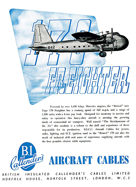 BICC Aircraft Electrical Cables & Wiring