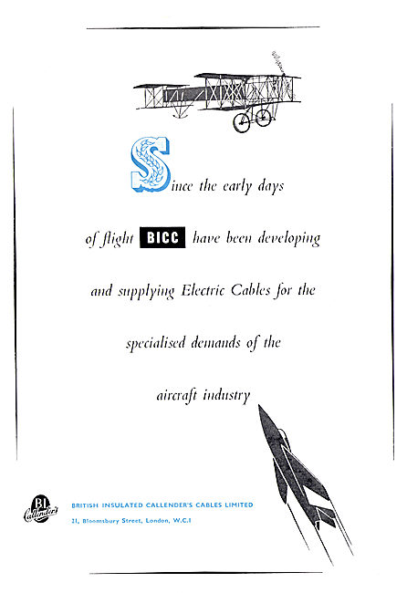 BICC Aircraft Cables