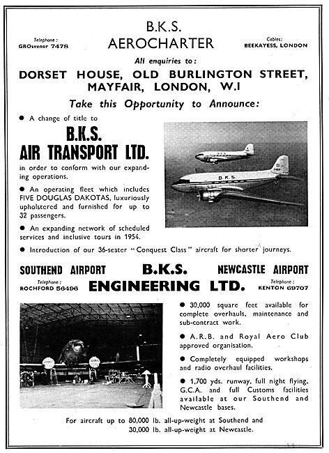 BKS Southend Airport - Aircraft Enginerring & Charter