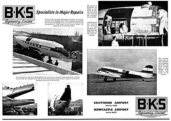 B.K.S. Engineering Ltd - Southend &  Newcastle Airports