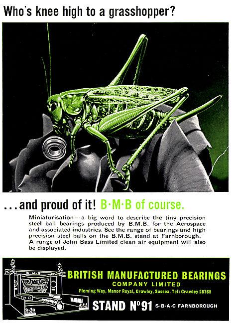 BMB. British Manufactured Bearings.