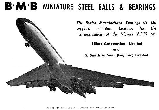 BMB Miniature Steel Balls & Bearings