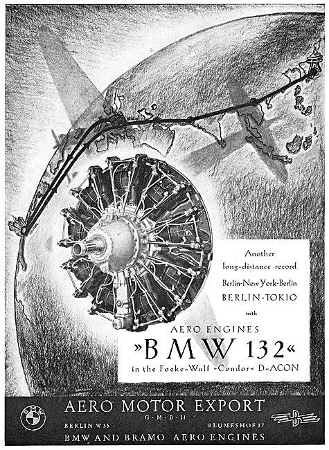 BMW 132 Aero Engine