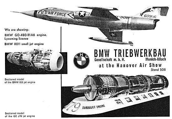 BMW Aero Engines - BMW GO-480-B1A6 : BMW 8011
