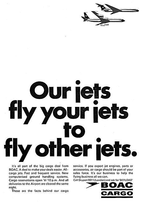 British Overseas Airways Corporation BOAC Cargo