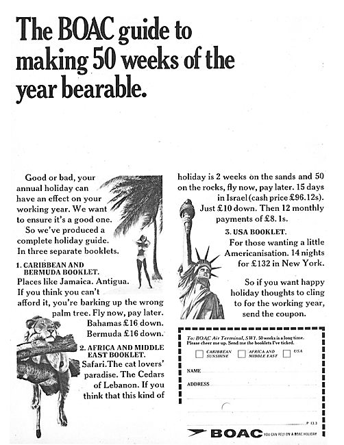 The BOAC Guide To Making 50 Weeks Of The Year Bearable