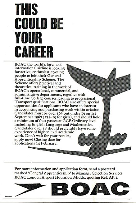 BOAC General Apprenticeship Scheme