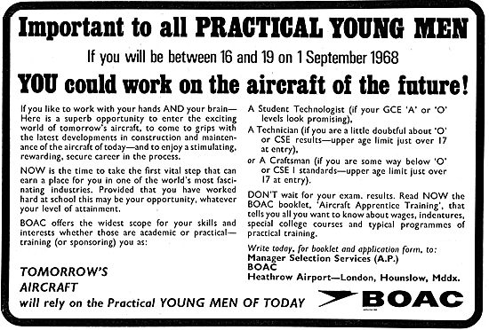 BOAC Engineering Apprenticeships