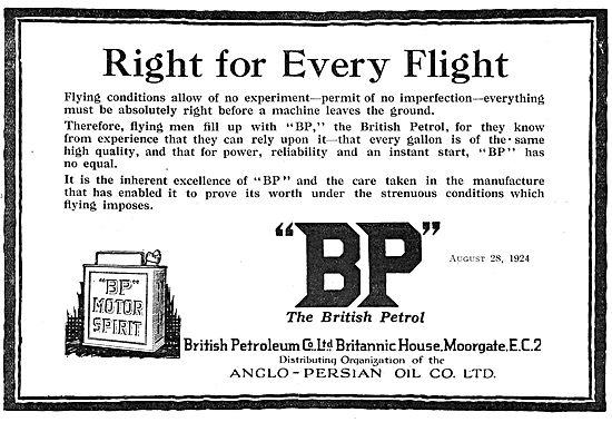 BP Aviation Fuels & Oils