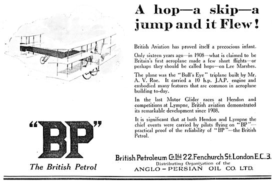British Petroleum BP - Anglo-Persian Oil Co Ltd