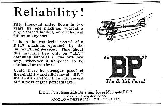 British Petroleum BP - Reliability In The Air