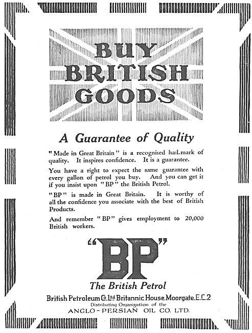 British Petroleum BP 1925