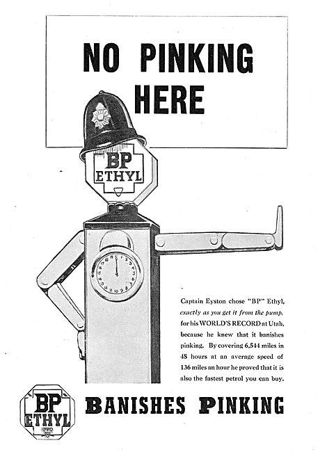 British Petroleum BP Ethyl - No Pinking