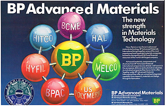 British Petroleum BP - BP Advanced Materials