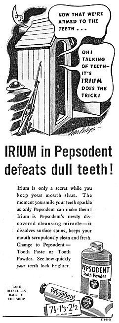 Pepsodent Tooth Powder with IRIUM