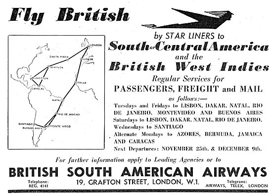 British South American Airways - BSAA