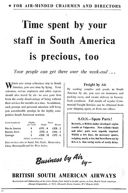 BSAA -  British South American Airways