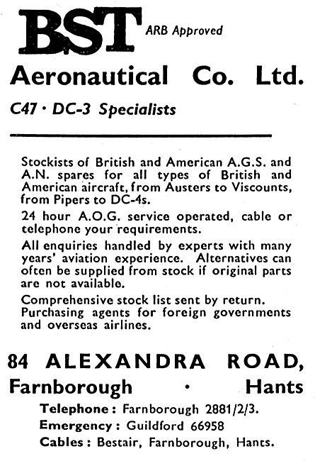 B.S.T Aeronautical C47/DC3 Specialists
