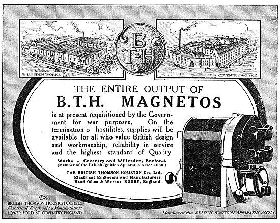 BTH Aero Engine Magnetos