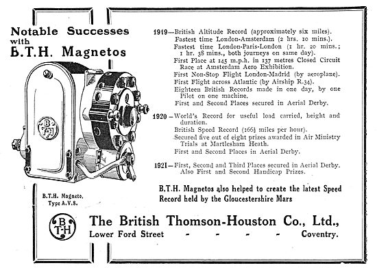 Classic British Aviation Industry Advertisements 1909 - 1980