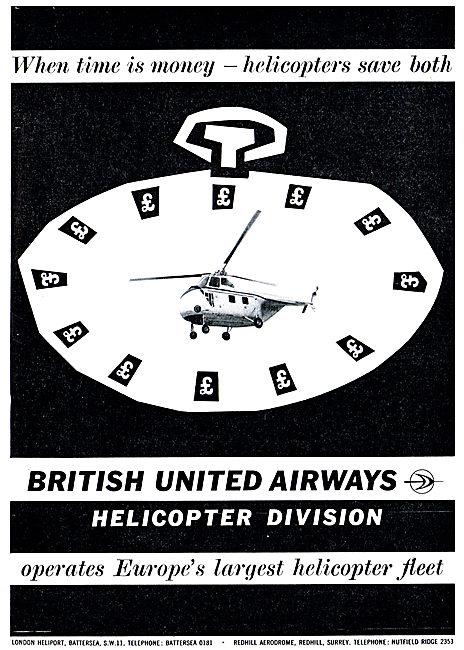 British United Airways - BUA Helicopters