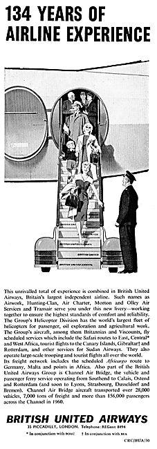 BUA  - British United Airways: 134 Years Of Experience...