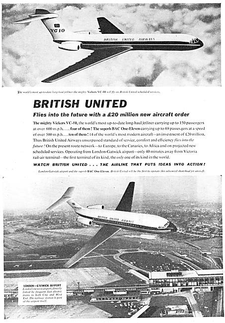 BUA. British United Airways.